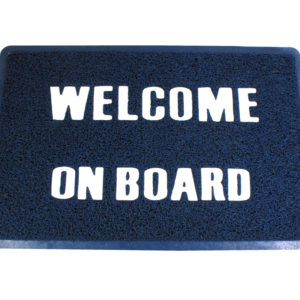 """Matte """"Welcome on board"""""""