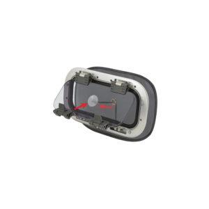Myggnett for portlight-vindu small