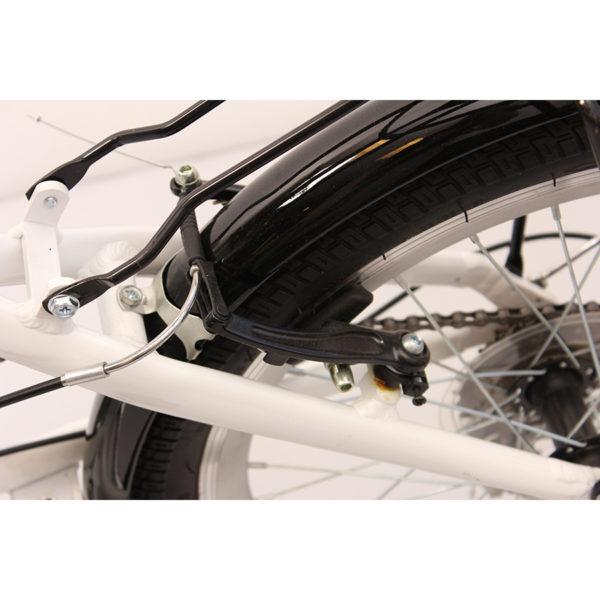 , Sammenleggbar sykkel m/alu.ramme, 6 gir, Naumar seil- og båtutstyr